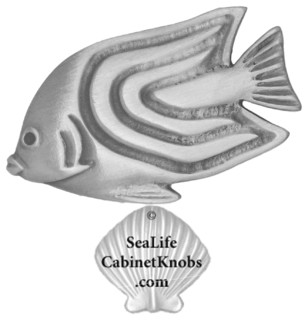 Tropical Fish Cabinet Knobs - Beach Style - orlando - by ...
