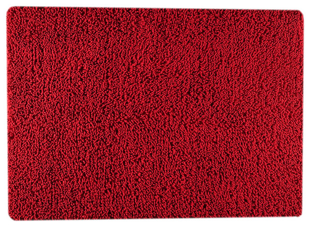 Square red rug modern rugs los angeles by viesso for Modern rugs los angeles