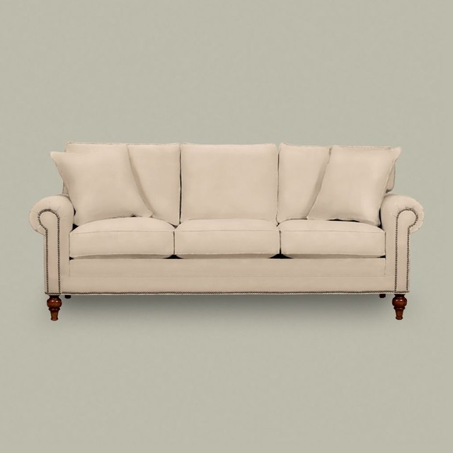 hastings sofa (three cushion) - Traditional - Sofas - by Ethan Allen