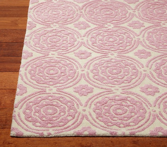 Sweet Flower Rug contemporary-kids-rugs
