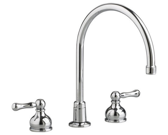 American Standard 7230.000 Double Handle Gooseneck Kitchen Faucet -