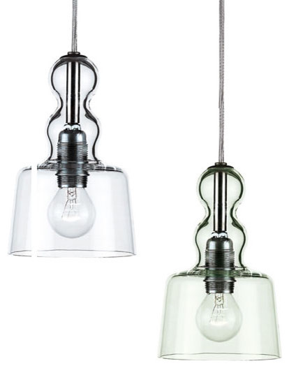 Privata Acquamiki Clear Pendant Lamp By Ameico Lighting modern-pendant-lighting