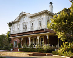 Historic East Bay Mansion traditional-exterior