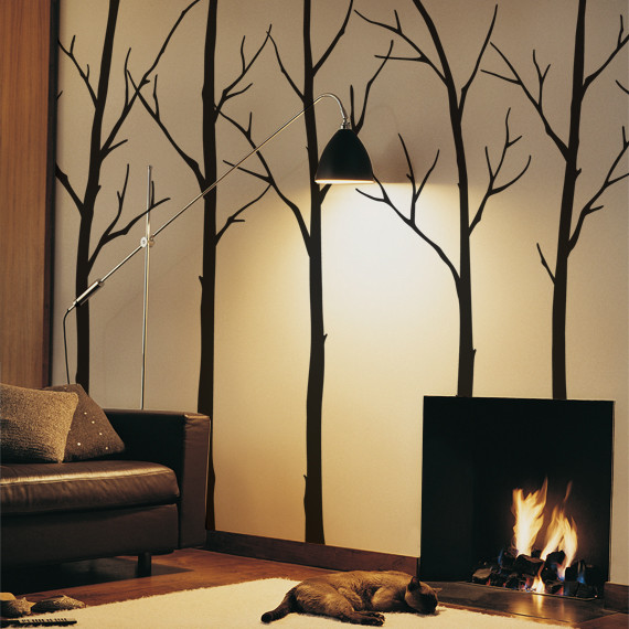 Winter Tree contemporary-wall-decals