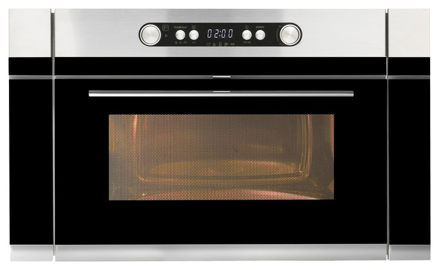 Nutid Microwave Oven, Stainless Steel contemporary-microwave-ovens