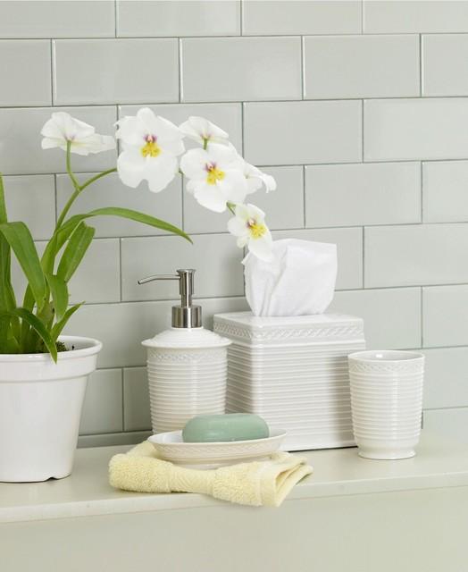 martha stewart collection quot trousseau quot bath accessories