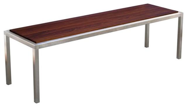 Modern Outdoor Talt Backless Bench modern-outdoor-benches