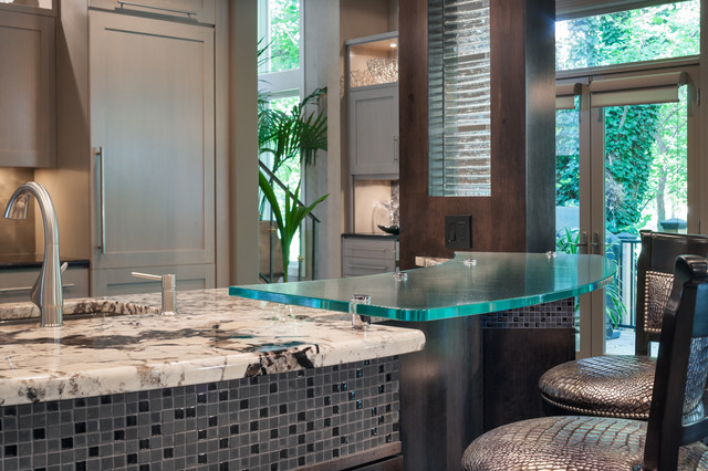 Leawood Kitchen Remodel - Contemporary contemporary