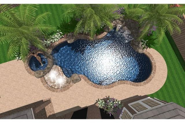 Metcalf Residence tropical-rendering