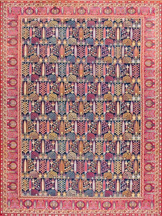 "Antique Turkish Oushak Carpets - #18786 antique Turkish Oushak carpet 10'0"" x 13'3"""