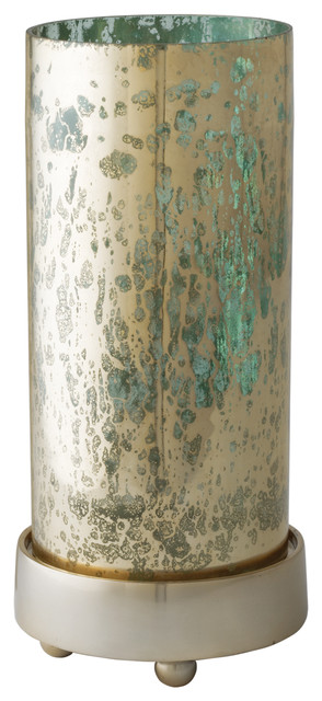 Gilded Sea Hurricane, Small contemporary-candles-and-candle-holders
