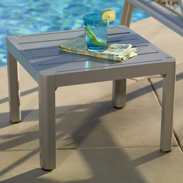 Momentum Outdoor Side Table - Frontgate, Patio Furniture traditional-side-tables-and-end-tables