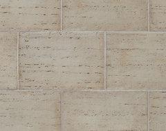 Coronado Colosseum Travertine Stone Tile - Color: Roman - Stone Veneer T mediterranean
