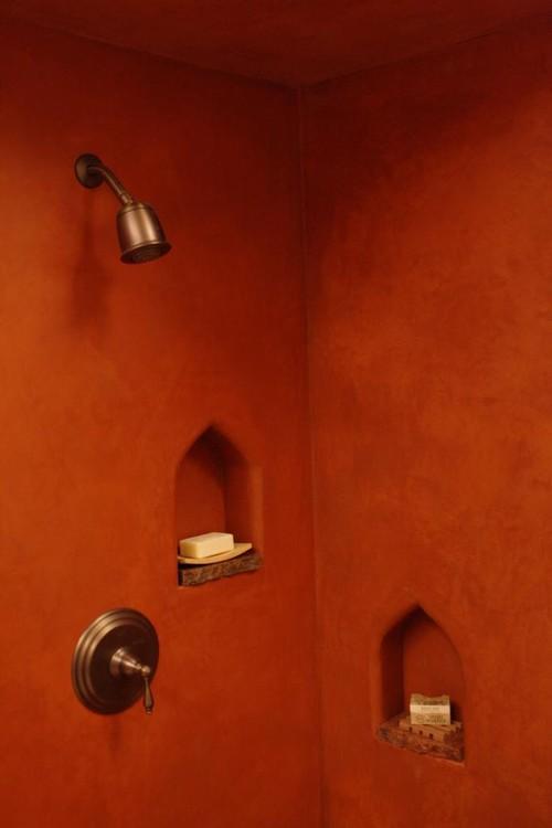 I colori della terra per un bagno in stile marocchinobagni dal ...