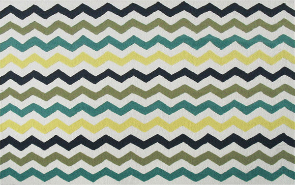 CHEVRON MULTI ,Area Rug ,size   5X7 modern-rugs