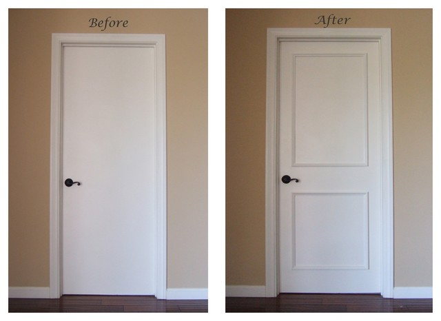 Instant Two Panel Raised Door Moulding Kit - Traditional - Interior Doors - los angeles - by ...