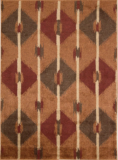 """Nourison Kindred 2'3"""" x 3'9"""" Copper Rug contemporary-rugs"""