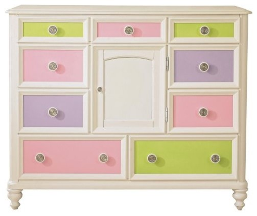 Build-A-Bear Pawsitively Yours 9-Drawer Dresser traditional-dressers-chests-and-bedroom-armoires