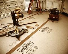 Ram Board Home Edition™ wood-flooring