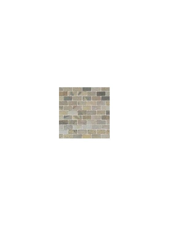 Tumbled Slate- India Autumn Brick Joint -