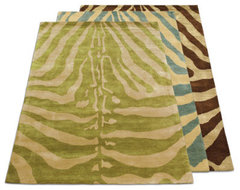 Serengeti Zebra Print Area Rug traditional rugs