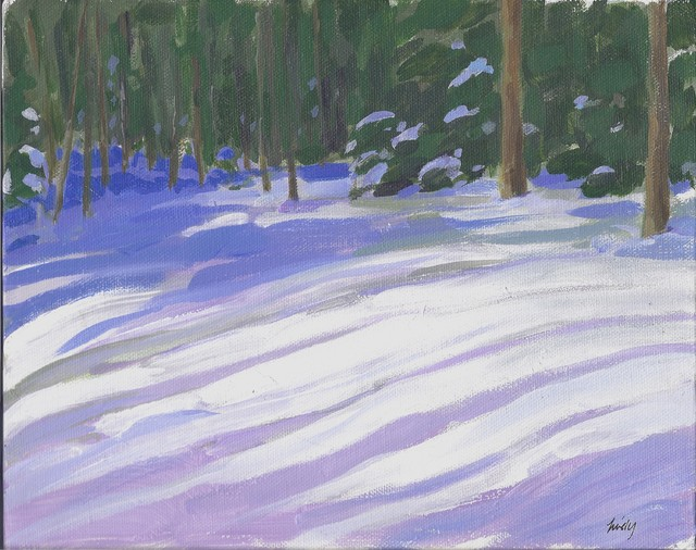 """""""The Woods in Winter"""" Artwork contemporary-originals-and-limited-editions"""