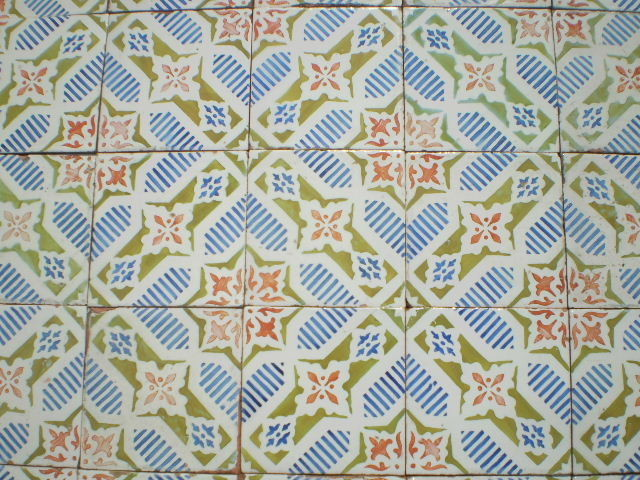 OLD MAJOLICA - UNIQUE VERY RARE TILES in HIGH-END LUXURY STYLE contemporary