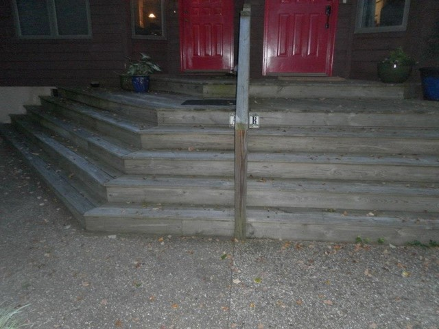 Stairs Before modern