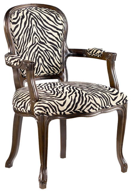 Hammary 090 436 Hidden Treasures Animal Print Accent Chair .