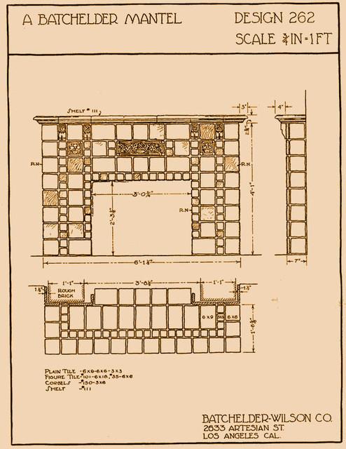 English Cottage Kitchen traditional-interior-elevation