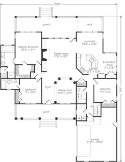 Southern Living House Plans Wrap Around Porch. Southern. Home Plan ...