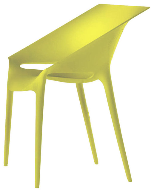 Dr. Yes Chair by Kartell, Set of 2 modern-dining-chairs