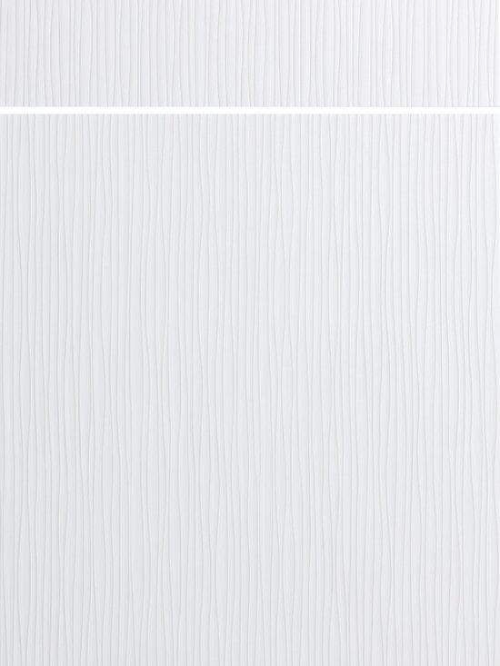 "Dura Supreme Cabinetry - Dura Supreme Cabinetry Urbana - Vertical Contemporary Cabinet Door Style - Dura Supreme Cabinetry ""Urbana - Vertical"" contemporary cabinet door style in Textured Foil shown with Dura Supreme's ""Sea Salt"" foil finish."
