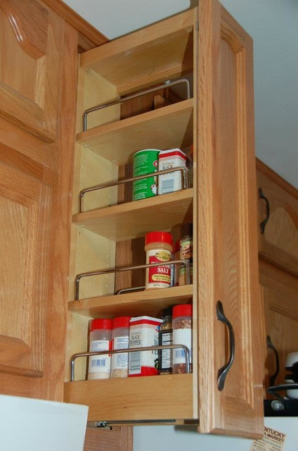 Pull Out Spice Rack - louisville - by ShelfGenie of Kentucky