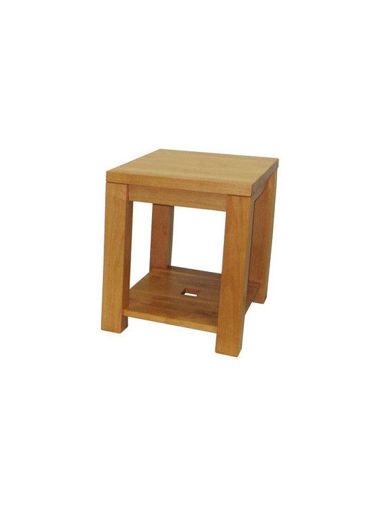 Creative Home Furnishings - Boxwood Furniture - Boxwood Condo End Table