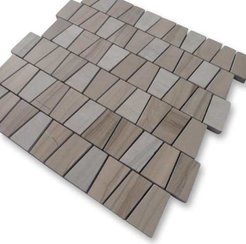 Relic Athens Gray Marble Tile tropical-tile