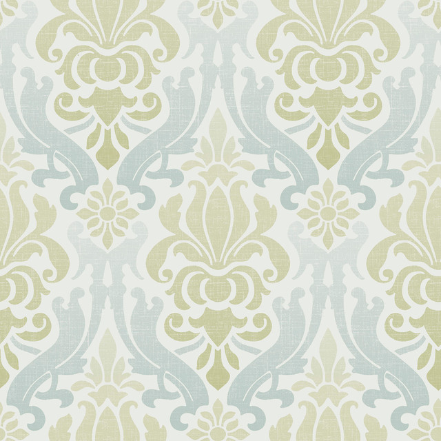 damask peel and stick wallpaper taupe 4 rolls transitional wallpaper