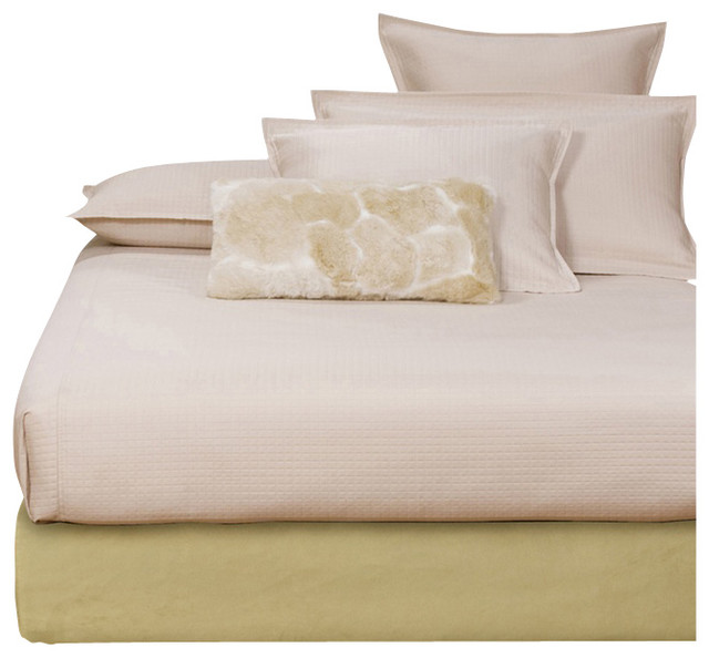 Howard Elliott Microsuede Willow Queen Boxspring Cover modern-beds