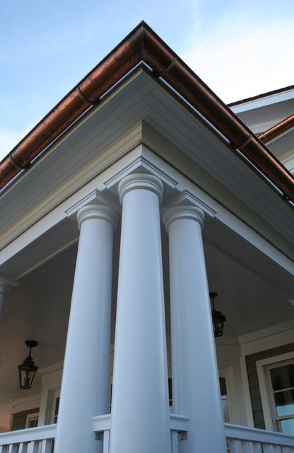 Column / Entablature detail traditional porch
