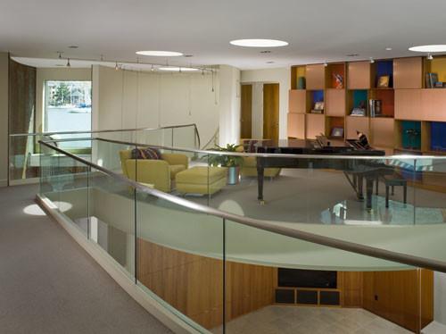 Point Richmond House modern-living-room