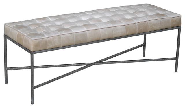 oly studio jonathan bench modern upholstered benches