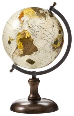 Decorative Wooden Globe Traditional Home Decor By Target