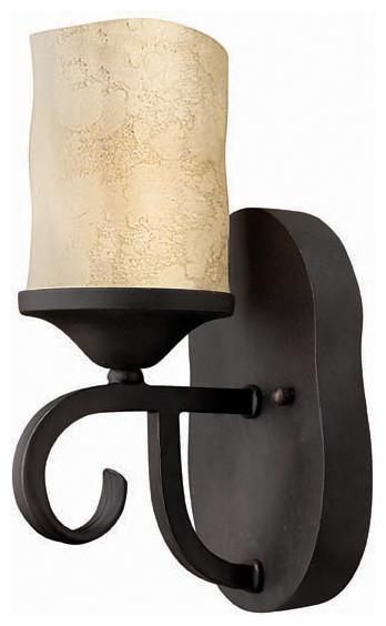 Hinkley Lighting 4010OL Casa Olde Black Wall Sconce mediterranean-wall-sconces