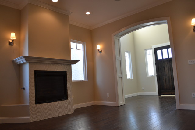 New Construction Home living-room