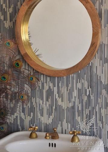 New Ravenna Mosaics Ikat Collection eclectic-tile