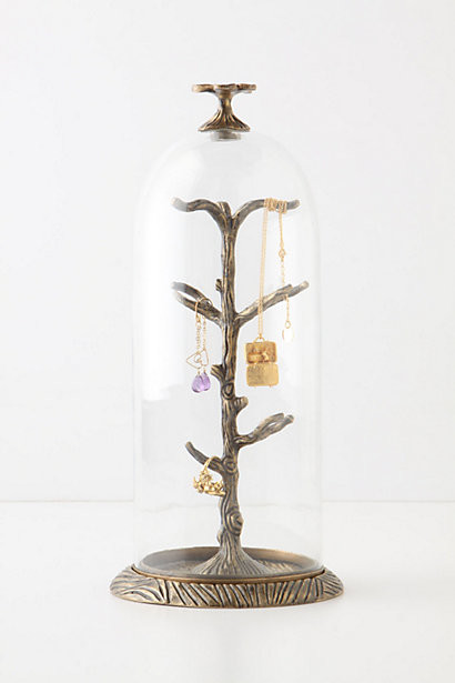 Cloche Jewelry Holder - Eclectic - Jewelry Boxes And Organizers - by Anthropologie