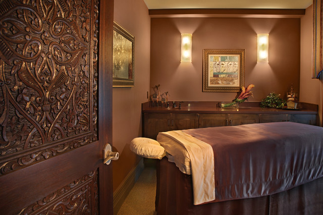 massage room contemporary tampa by kds interiors inc