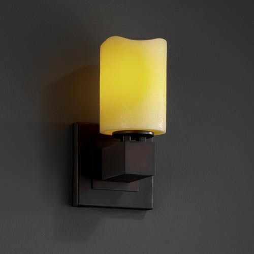 Candle Wall Sconces Contemporary : CandleAria Aero One-Light Sconce - Contemporary - Wall Sconces - by Bellacor