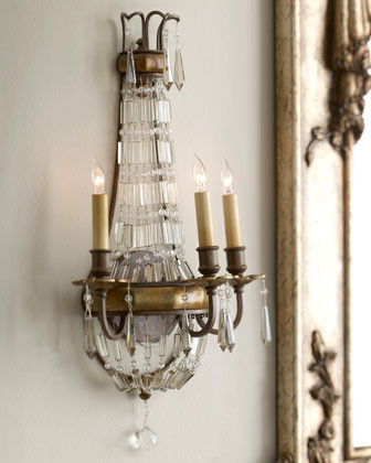 Three-Light Sconce traditional-wall-sconces