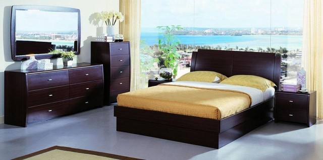 stylish wood high end bedroom furniture with extra storage modern
